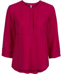 RAINBOW Bluse 7/8 Arm in pink (V-Ausschnitt) von bonprix