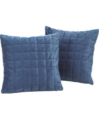 bpc living Sofaüberwurf Fleece in blau von bonprix