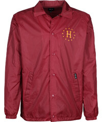 Huf Recruit Coaches Windbreaker red