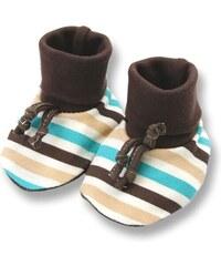 Lafel Chlapecké ponožky/capáčky Sova - barevné