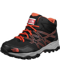 The North Face Hedgehog Hiker Mid Wp Junior chaussures randonnées enfants red