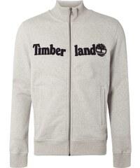 Timberland Sweatjacke mit Logo-Applikation