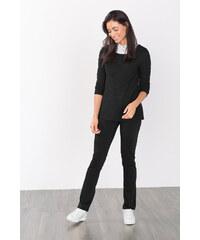 Esprit Strečové kalhoty se saténovým vzhledem