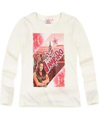 Chica Vampiro Langarmshirt weiß in Größe 116 für Mädchen aus 100% Baumwolle