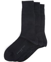 FALKE Dreierpack Socken aus Baumwolle Marineblau TIAGO