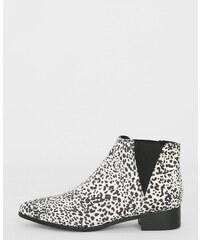 Pimkie Spitze Boots mit Leoparden-Motiv
