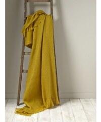 Cyrillus Plaid - jaune