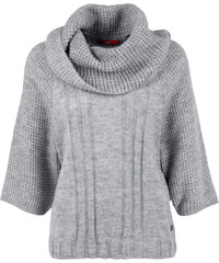 s.Oliver Dicker Poncho mit Mohair-Anteil