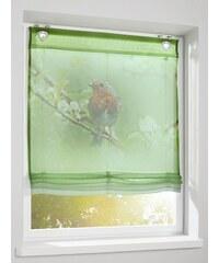 Heine Home Raffrollo grün ca. 130/100 cm,ca. 130/120 cm,ca. 130/45 cm,ca. 130/60 cm,ca. 130/80 cm