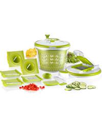 Lesara Lot de 9 pièces pour essorer salade et couper découper les légumes