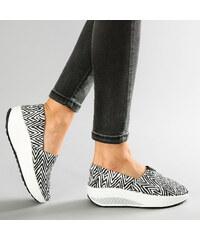 Lesara Slip-on avec zigzags pour le fitness