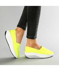Lesara Slip-on design fluo pour le fitness