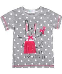 Lesara Kinder-T-Shirt mit Häschen-Print - 68