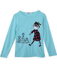 Lesara Kinder-Langarmshirt mit Puppen-Print - 74