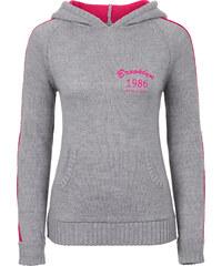 RAINBOW Pullover aus Strick langarm in grau für Damen von bonprix
