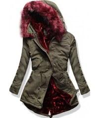 Dámský kabát Doom červený AKCE - červená