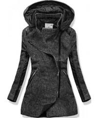 Dámský kabát Focus černý - černá
