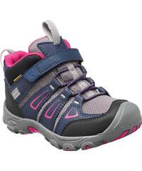 Keen Dívčí kotníkové boty Oakridge WP - fialovo-šedé
