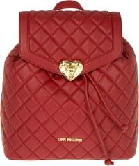 Love Moschino Sacs à Bandoulière, Nappa Pu Trapuntata Backpack Rosso en rouge