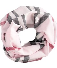 FRAAS Snood mit klassischem FRAAS Plaid in rosa