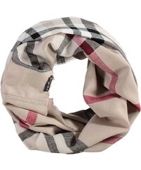 FRAAS Snood mit klassischem FRAAS Plaid in taupe
