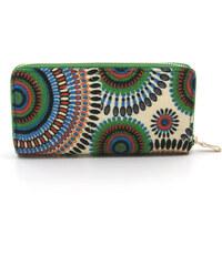 Dámská peněženka Mandala barevná