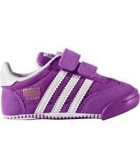 Adidas Dívčí sportovní boty Dragon L2W Crib - fialové
