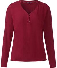 Street One - T-shirt Haldis - vintage red