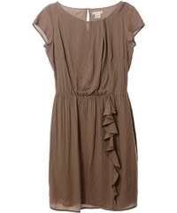 Daxon Kleid - maulwurfsfarben