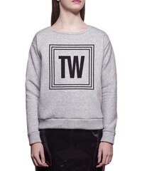 The Woods Sweat-shirt - gris chine