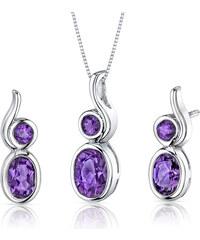 Eppi Ametystová kolekce šperků ze stříbra Nishi