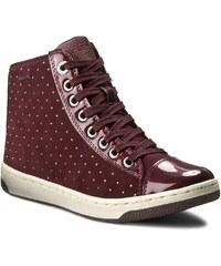 Sneakersy GEOX - J Creamy A J64L5A 022HI C7357 D Dk Burgundy