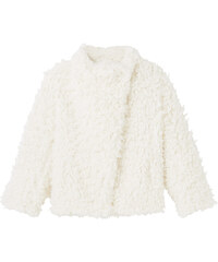 MANGO KIDS Manteau Fourrure Synthétique