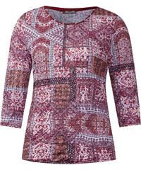 Street One - T-shirt froissé Hannelore - vintage red