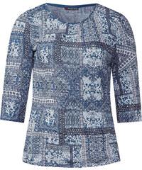 Street One - T-shirt froissé Hannelore - delta blue