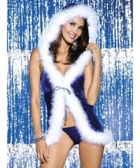 Vánoční kostým Snowflake dress - Obsessive Velikost: S/M