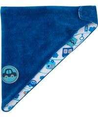 G-mini Chlapecký velurový šátek Autíčka - modrý