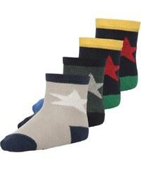 Ewers STERN 4 PACK Socken navy/grün/beige