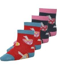 Ewers 4 PACK Socken pink/blau/bunt
