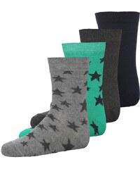 Ewers 4 PACK Socken blau/grau/grün/navy