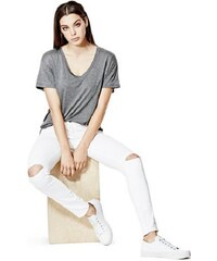Guess jeans Isabel Mid-Rise Curvy Skinny in Optic White Wash