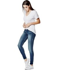 Guess jeans Low-Rise Power Skinny in Super Indigo Wash
