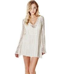 Guess šaty Adalina Long-Sleeve Crochet
