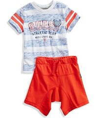 Guess Kids set Striped Tee and Shorts