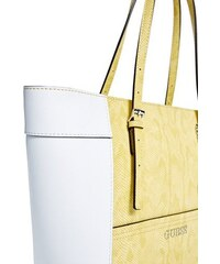 Guess kabelka Delaney Lizard-Embossed Small Classic Tote