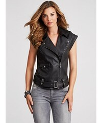 GUESS vesta Cap-Sleeve Drop-Shoulder