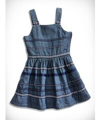 GUESS Kids šaty Denim with Ribbon