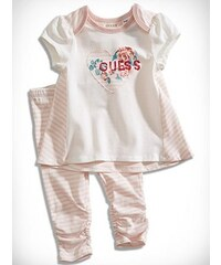 GUESS Kids set Logo Top and Striped Leggings