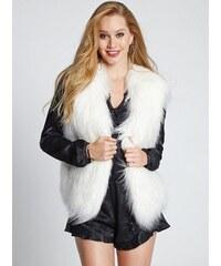 GUESS vesta Draped Faux-Fur