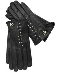 Rukavice MICHAEL KORS Leather Astor Studded